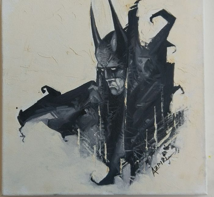 Azpiri, Alfonso - Original painting - Batman