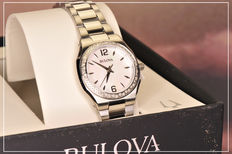 Bulova Diamond Gallery - women's watch - never worn - new condition - 2017