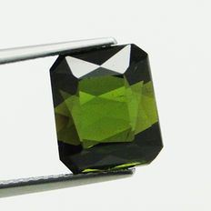 Green Verdelite Tourmaline - 6.83 ct  - No Reserve Price