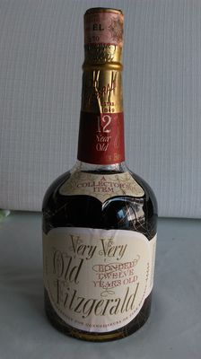 Very very Old Fitzgerald 12 years old 1955