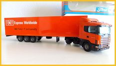 Tekno - Scale 1/50 - Scania 400 tractor trailer TNT
