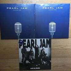 Pearl Jam || Lot of 3 LP's || Live Recordings || Still in sealing