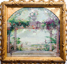 Abbéma Louise (1853 - 1927) (Attributed to) - Chateau Versailles