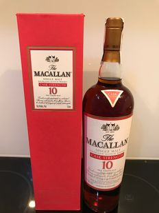 Macallan Single Malt Sherry Oak 10 Years Old 1000 ML -  Cask Strength 58.6%