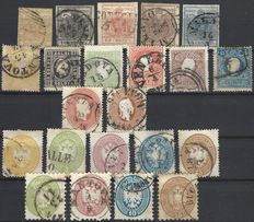 Italy Austria Lombardy & Veneto, small collection starting from 1850
