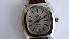 Cyma by Synchron Conquistador men's watch from 1969.