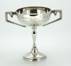 Silver trophy with the mark of William Neale, Birmingham - 1936
