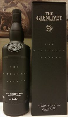 The Glenlivet Cipher - Limited available - Only 33.000 bottles worldwide