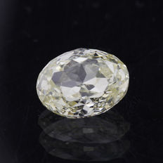 1.03 ct oval cut diamond tinted yellow (M) SI1 **LOW RESERVE PRICE**