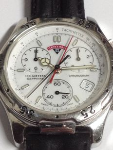Certina – DS – Men's wrist chronograph.
