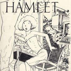 Clerkx, Aart - 28 Original pages (including cover) - Hamlet - (1977) Comic Art