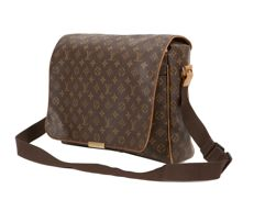 Louis Vuitton Abbesses Messenger Bag.