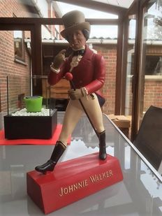 Vintage Johnny Walker - bar statue advertising figure 1960