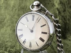 Pocketwatch in gold plated case - approx. 1830