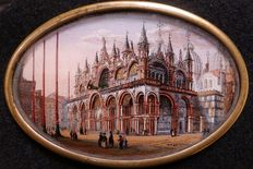 In the manner of Carlo Grubacs (XIX century) - Basilica San Marco