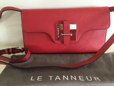 Le Tanneur - very beautiful shoulder bag - entirely leather