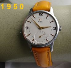 OMEGA -- Dress watch -- men's model -- from 1950 + Warranty!