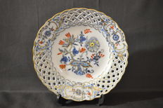 Meissen - Blue onion motif ceremonial plate