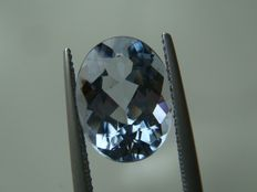 Beryl Blue Maxixe - 5.36 ct
