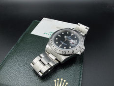 1998 ROLEX EXPLORER 2 16570 BLACK DIAL WITH PAPER