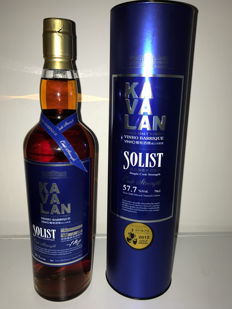 Kavalan Solist Vinho Barrique Single cask Strength 57.7% Gold Medal Winner 2012