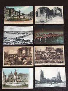 Lot of Bordeaux and surroundings 420 postcards approx. - from the beginning of the 20th century to the 1960s, various France