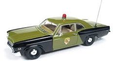 Autoworld - Scale 1/18 - Chevrolet Biscayne 'Maryland State Police' 1966