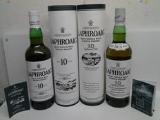 2 Bottles Laphroaig 10 years Old.
