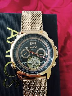 "Aatos "" Calendar"" – men's wristwatch – 2016 -- never been worn"