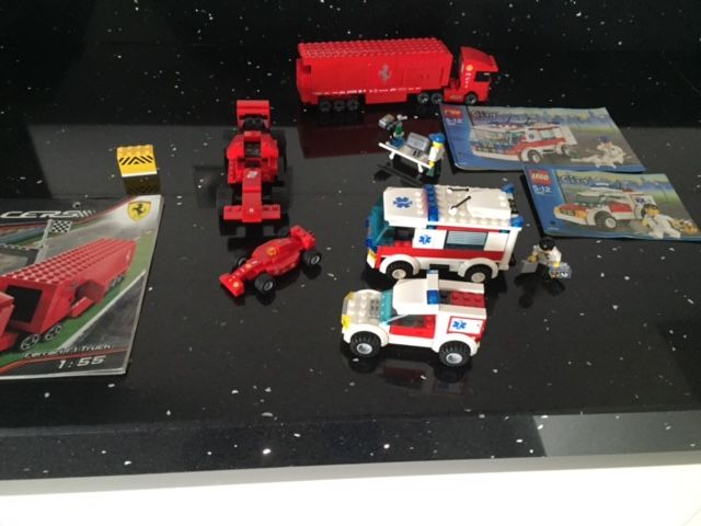 City / Creator   7944 + 7890 + 7902 + 7891 + 5866 + 8153   Fire Hovercraft  + Ambulance + Doctoru0027s Car + Airport Firetruck + Rotor Rescue + Ferrari F1  Truck ...