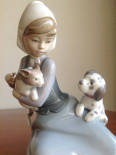 "Lladro ""LITTLE FRISKIES"" - Juan Huerta"