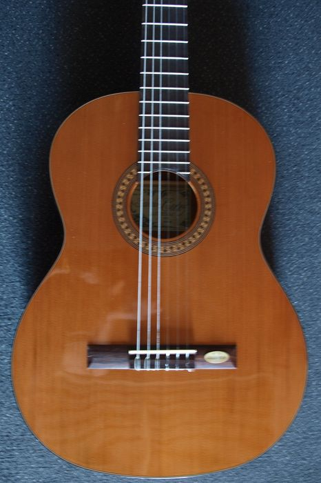 New Salvador Cortez Solid CC-21 top Artist classic with tuner and bag