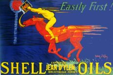 Jean d'ylen - Shell Oils - 2 copies of lithograph posters - 1980