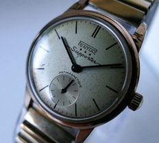 Pontiac Supporter *** – Gold plated men's watch – 1950s