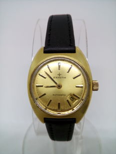Zenith Automatic - Swiss made ladies watch - Gold filled bezel!
