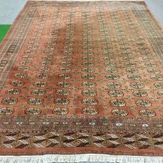 450 x 315 cm large hand-knotted oriental carpet - Bukhara - Yomut - approx. 1970
