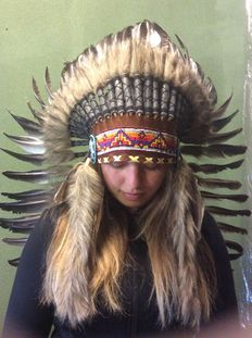 Wonderful decorative headdress - 21st century