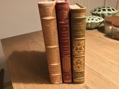 Franklin Library - Lot of 3 titles from the 100 Greatest Masterpieces of American Literature - 3 volumes