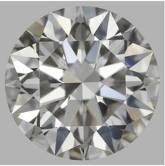 2.02 ct IGI Round Brilliant Diamond I VS2 -Original Image-10X - Serial# 218