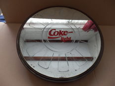 Film can, with Coke Light mirror - from the 80s/90s of the last century, America