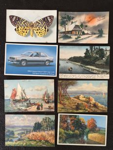 lot of about 750 postcards novelty, art and celebrities and various France - early 20th century to the 1960s various France