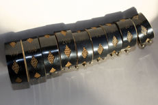 Set of nine honeycomb coils – from the 1920s