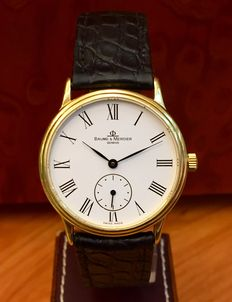 Baume & Mercier Classima. 18 kt gold. Calibre BM 10001, special edition. Wind-up watch. Men's watch. From the 2000s.