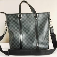 Louis Vuitton – Damier Graphite Tadao GM – Shoulder bag