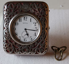 Omega - large Lepine pocket watch with 8 day movement -  circa 1904