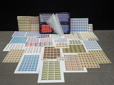 Soviet Union - Stock in stock book plus sheets