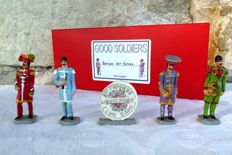 "The Beatles Collector - "" Sgt Pepper "" - Lead figurines - handpainted - Good Soldiers"