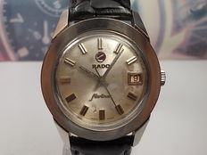 RADO STARLINER classic round dial, date window gents automatic wrist watch c.1960s'