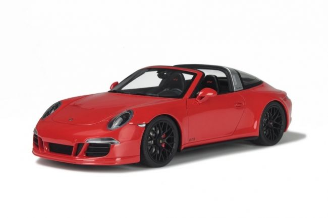 GT-Spirit - Scale 1/18 - Porsche 911 (991) Targa GTS - Limited 991 Pieces - Colour: Red
