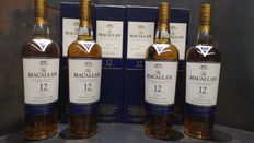 Macallan 12 Double Cask 700ml x 4